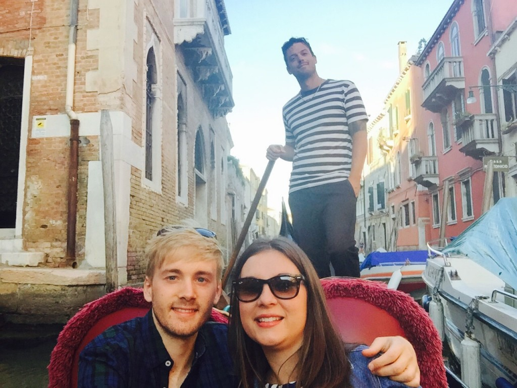 Me, Gem and er, Michele, enjoying a Gondola ride among the canals of Dorsoduro.