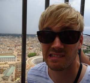 I'm not scared of heights but the dome at St Peter's Basilica on a stormy day got me wobbling.