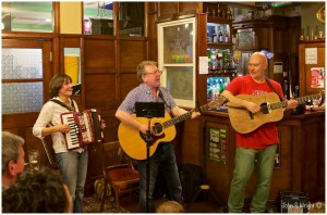 Anna Ryder, my dad and Keith Donnelly played at The Tump Folk Club to raise money.