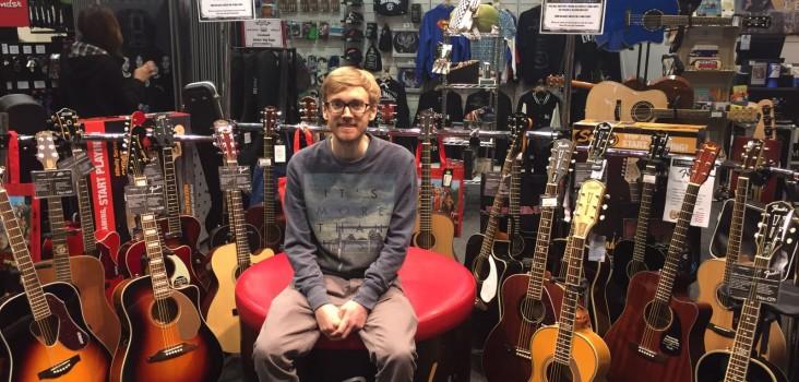 Trafford centre guitars