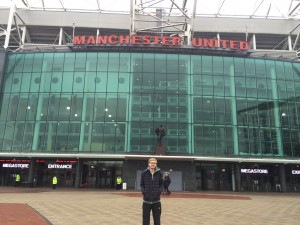 A quick trip to obviously impressive Old Trafford was an awesome distraction away from the business of my treatment.