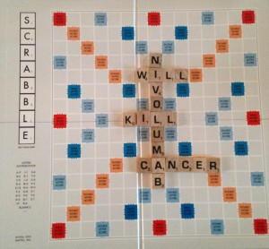 Nivolumab - it's a long and complicated word but only gives you 16 points in a game of Scrabble.