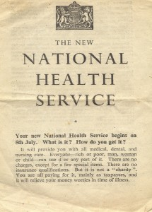 Every household received one of these leaflets in 1948 explaining how the NHS worked.